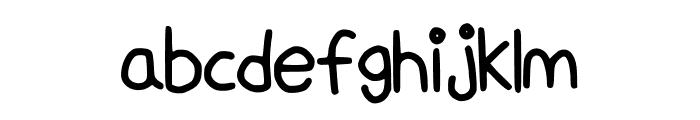 HandWritingScript Font LOWERCASE