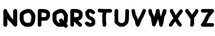 Handform Font LOWERCASE