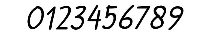Handgley Italic Font OTHER CHARS