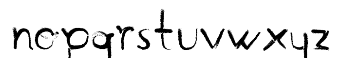 Handmade Font LOWERCASE