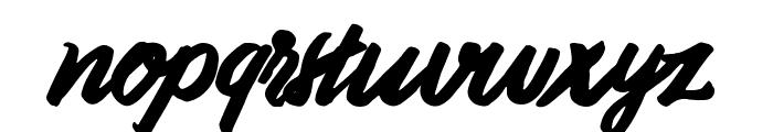Handoubt Font LOWERCASE