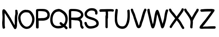 Handpower Font UPPERCASE