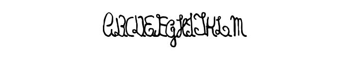Handrey Sans Font UPPERCASE