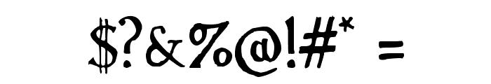 Handserif Font OTHER CHARS