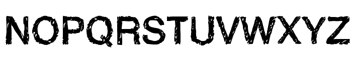 Handvetica Neue Font UPPERCASE