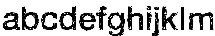 Handvetica Neue Font LOWERCASE