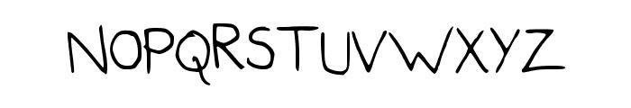 Handwriter Font UPPERCASE