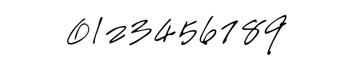 Handwriting Font OTHER CHARS