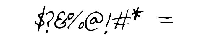 HandwritingOPB Font OTHER CHARS