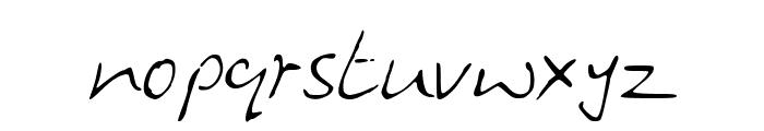 HandwritingOPB Font LOWERCASE