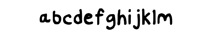 Handwritten Nat29 Font Medium Font LOWERCASE