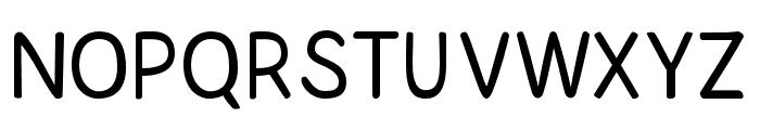 HandyAndy Font UPPERCASE