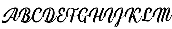 Handycheera Font UPPERCASE