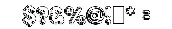 Hang 'Em 2 Font OTHER CHARS