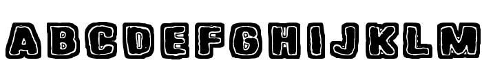 Hangen henki Font UPPERCASE