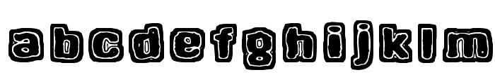 Hangen henki Font LOWERCASE