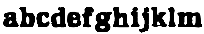 Hangover 2 Font LOWERCASE