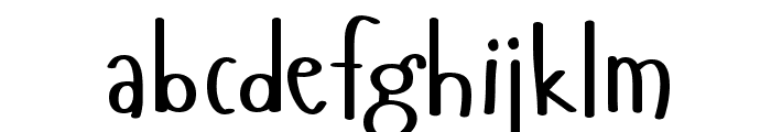 Hangyaboly Font LOWERCASE