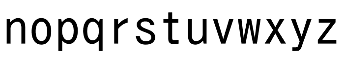 Hangyaku Font LOWERCASE