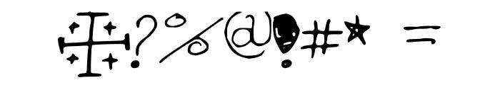 Hannah_Font_Print Font OTHER CHARS