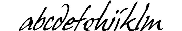 HansHand Font LOWERCASE