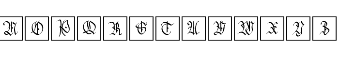 HansSachsCaps Font UPPERCASE