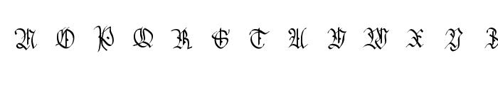 HansSachsCaps Font LOWERCASE