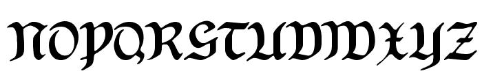 HansSachsGotisch Font UPPERCASE