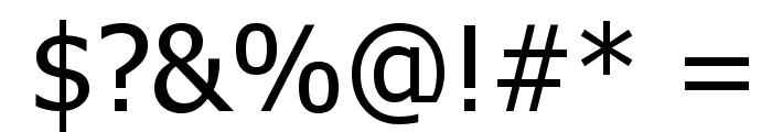 Hanuman Font OTHER CHARS