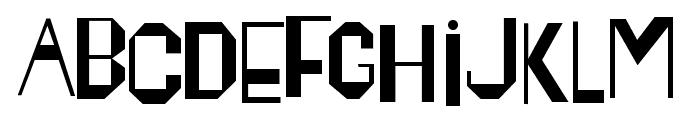 Happening Font UPPERCASE