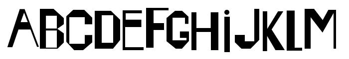 Happening Font LOWERCASE