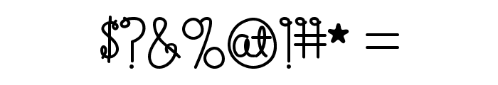 Happy Birthday, Baby [Bold]Regular Font OTHER CHARS