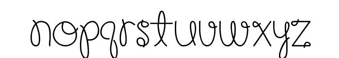 Happy Birthday, Baby [Medium] Font LOWERCASE