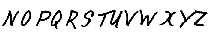 Happy Birthday Font UPPERCASE