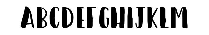 Happy Camper Regular Font UPPERCASE