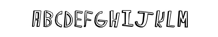 Happy Caps Font LOWERCASE