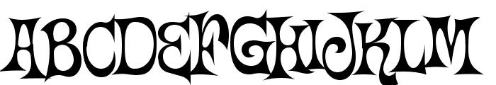 Happy Days Font UPPERCASE