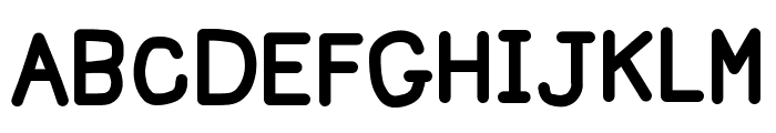 Happy Marker Font UPPERCASE