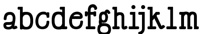 Happy Phantom Bold Font LOWERCASE