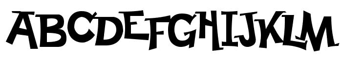 Happy Serif Font UPPERCASE