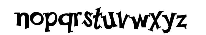 Happy Serif Font LOWERCASE