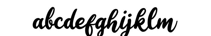 Happy Sunday Font LOWERCASE