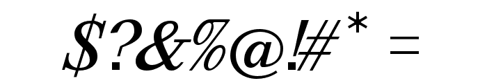 Happy Times at the IKOB Italic Font OTHER CHARS