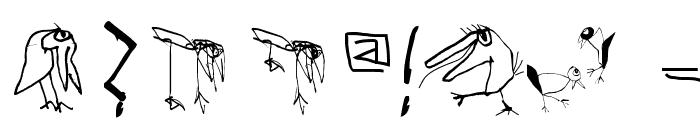 HappyBirdsDay-Medium Font OTHER CHARS