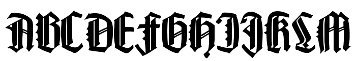 HappyFraxx Font UPPERCASE