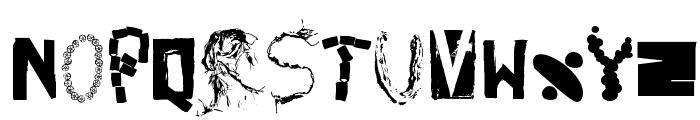 HappyFrushZero Font LOWERCASE