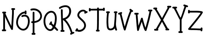 HappyKids Font UPPERCASE