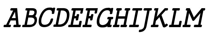 HappyPhantom Bold Italic Font UPPERCASE