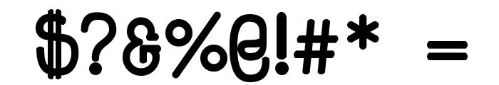 HappyPhantom Bold Font OTHER CHARS