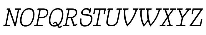 HappyPhantom Italic Font UPPERCASE